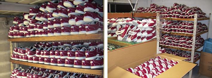 仕上乾燥 梱包 出荷作業